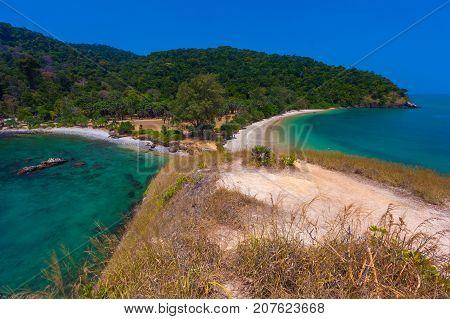 Shoreline of Lanta National Park - Krabi, Thailand