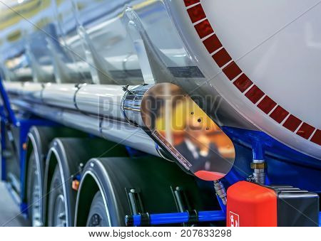 Tank, Cistern for transportation of combustible materials of oil and gasoline.