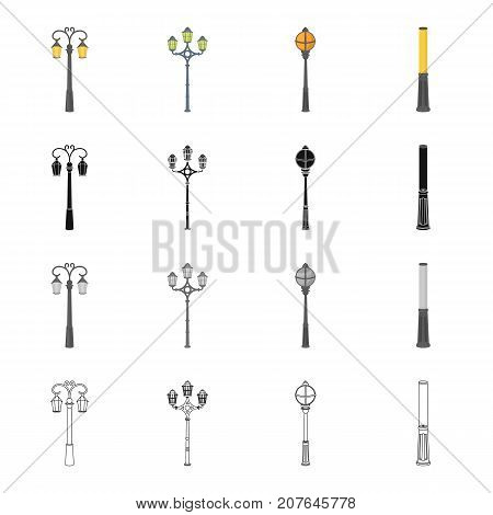 Electrical, appliance, chuck, and other  icon in cartoon style.Lantern, street, lighting, icons in set collection.