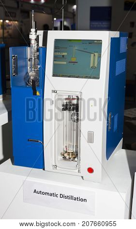 the automatic distillation equipment for laboratory ;