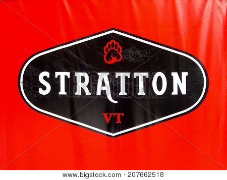 Stratton, Vermont - November 4 2007: Stratton Vermont winter ski resort in Vermont