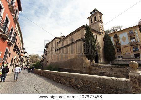 Beautiful View Of The Albaicin In Granada, Andalusia