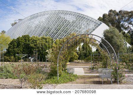 Bicentennial Conservatory And Rose Garden, Adelaide Botanic Garden, South Australia