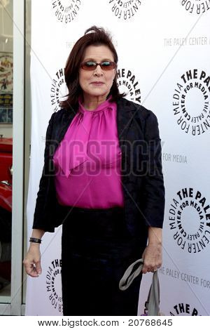 LOS ANGELES - JUN 7:  Carrie Fisher arrives at the Debbie Reynolds Hollywood Memorabilia Collection Auction & Auction Preview at Paley Center For Media on June 7, 2011 in Beverly Hills, CA