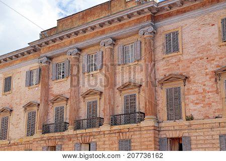 Gubbio medieval town in Umbria - Italy