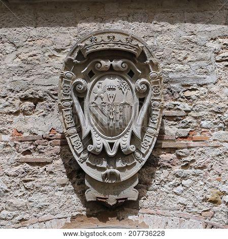 Ducal Palace in Gubbio Umbria - Italy