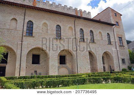 Gubbio medieval town in Umbria - (Italy)