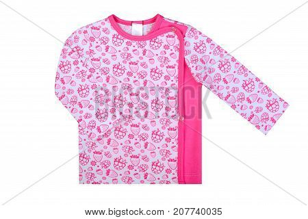 clothes for kids isolated on a white background