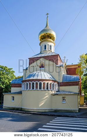 Church of the Intercession of the Most Holy Mother of God in the academic building of the Peter the Great St.Petersburg Polytechnic University in Saint Petersburg Russia