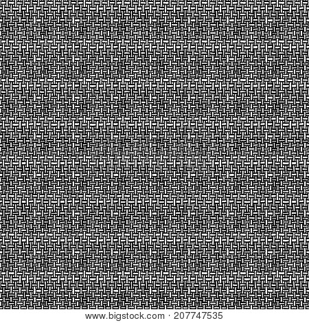 Seamless Pattern - Linear Weave Background