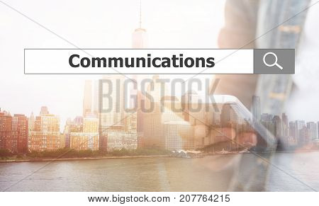Using Text Search. Communications