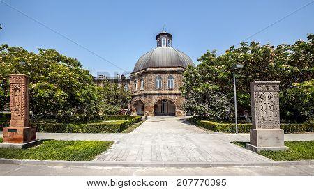 Armenia Echmiadzin. Spiritual Seminary