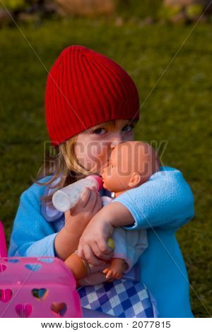 Girl with red cap