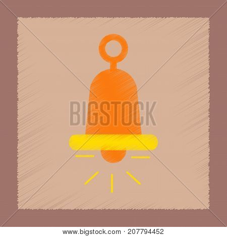 flat shading style icon poker bell ringer