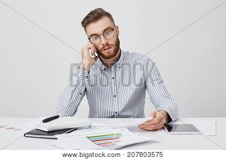 Hard Working Male Freelancer Has Puzzled Look As Realizes His Fault, Wrote Something Wrong In Import