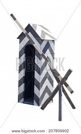 Sentry box reconstruction of the box of the XVIII century