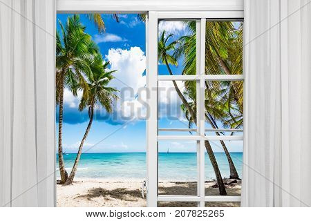 Window Open Palm Beach