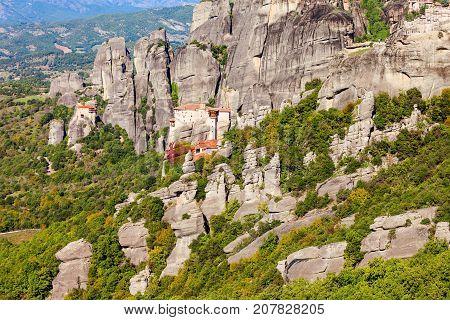 Meteora Monasteries Complex, Greece