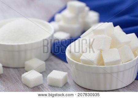 Sugar Refined In A Bowl