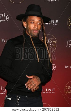 LOS ANGELES - OCT 4:  Ty Dollar Sign at the 2017 People's Ones To Watch at the NeueHouse Hollywood on October 4, 2017 in Los Angeles, CA