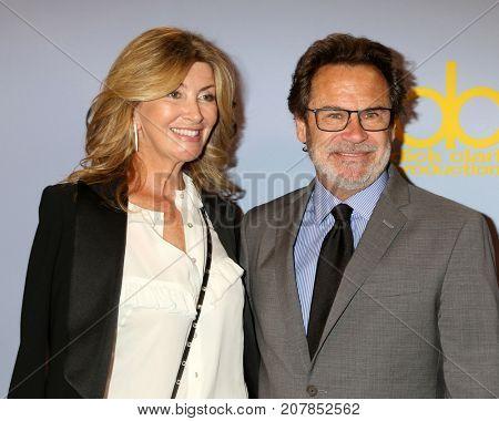 LOS ANGELES - OCT 4:  Carolyn Espley, Dennis Miller_ at the Carol Burnett 50th Anniversary Special Arrivals at the CBS Television City on October 4, 2017 in Los Angeles, CA