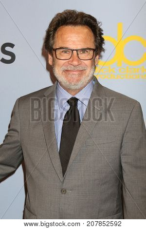LOS ANGELES - OCT 4:  Dennis Miller_ at the Carol Burnett 50th Anniversary Special Arrivals at the CBS Television City on October 4, 2017 in Los Angeles, CA