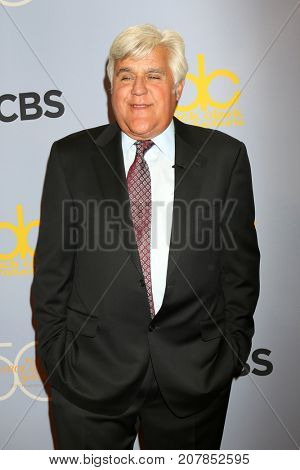 LOS ANGELES - OCT 4:  Jay Leno_ at the Carol Burnett 50th Anniversary Special Arrivals at the CBS Television City on October 4, 2017 in Los Angeles, CA