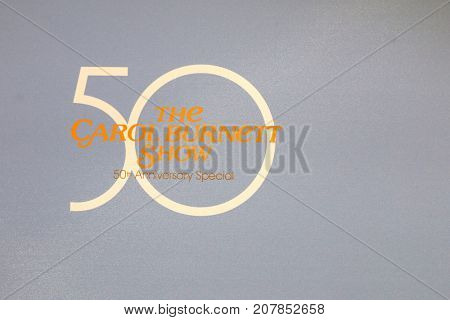 LOS ANGELES - OCT 4:  50th Anniversary Special of The Carol Burnett Show Emblem_ at the Carol Burnett 50th Anniversary Special Arrivals at the CBS Television City on October 4, 2017 in Los Angeles, CA