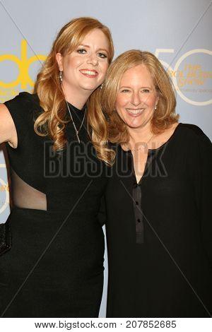 LOS ANGELES - OCT 4:  Laura Korman, Maria Korman at the Carol Burnett 50th Anniversary Special Arrivals at the CBS Television City on October 4, 2017 in Los Angeles, CA