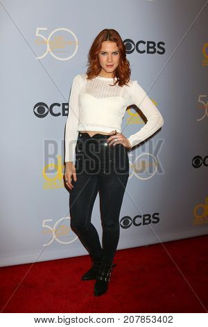 LOS ANGELES - OCT 4:  Courtney Hope_ at the Carol Burnett 50th Anniversary Special Arrivals at the CBS Television City on October 4, 2017 in Los Angeles, CA