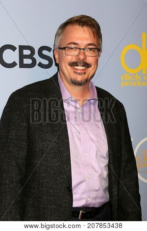 LOS ANGELES - OCT 4:  Vince Gilligan_ at the Carol Burnett 50th Anniversary Special Arrivals at the CBS Television City on October 4, 2017 in Los Angeles, CA