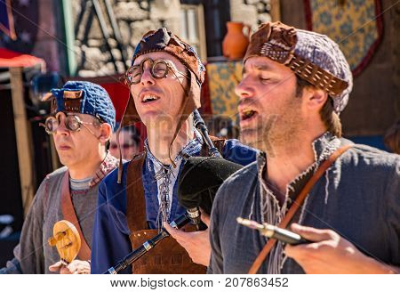 Traditional Medieval Singers