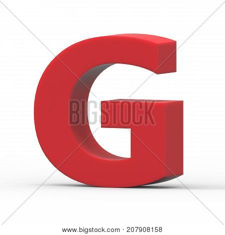 Right Red Letter G