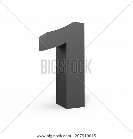 Left Grey Number 1
