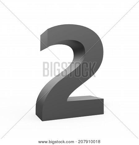 Left Grey Number 2