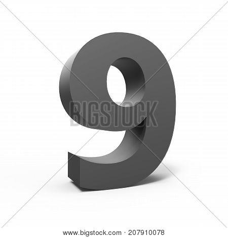Left Grey Number 9