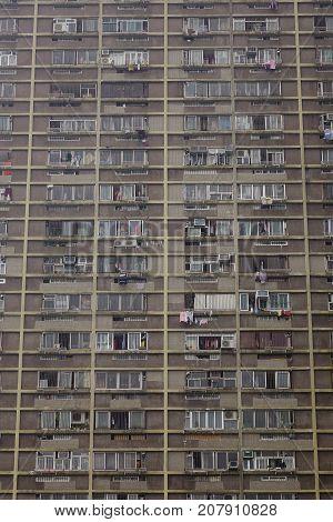 Modern Buildings In Kowloon, Hong Kong