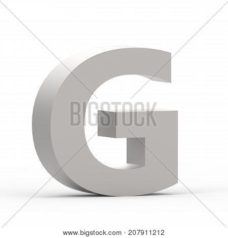 Matte Grey Font G