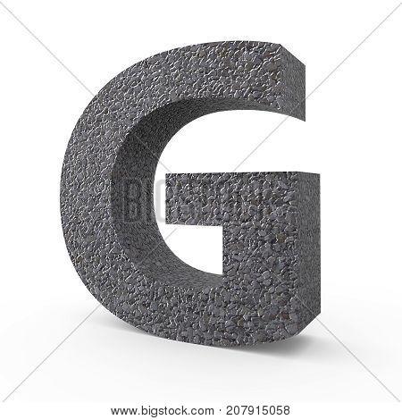 Gravel Font G