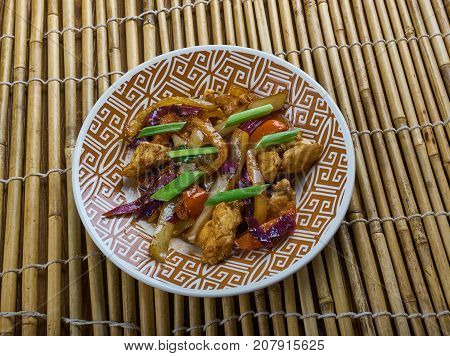 Chicken And Chinese Vegetable Stir-fry