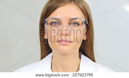 Close Up Of Female Reseach Scientist, Indoor