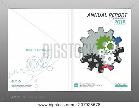 Covers design for annual report, catalog, magazine, brochure, flyer, booklet, portfolio, poster, corporate presentation, Minimalist design background template in A4 size layout, vector illustration.