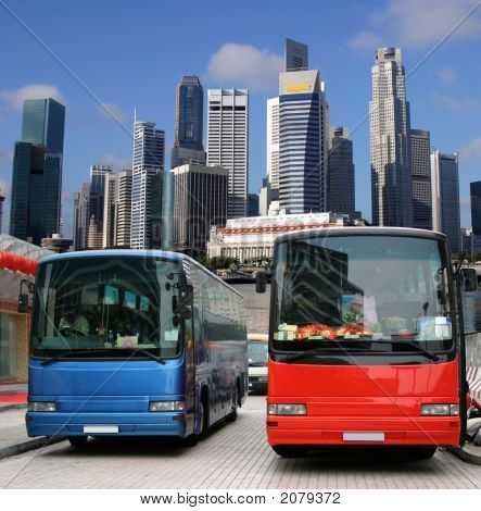 Buses In Singapore