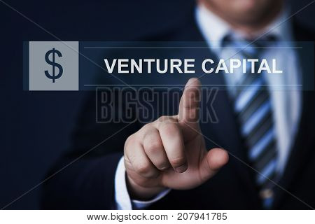 Venture Capital Investment Start-up Funding Business Technology Internet Concept.