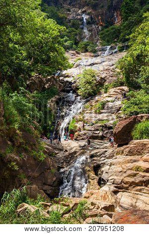 Ravana Falls Near Ella