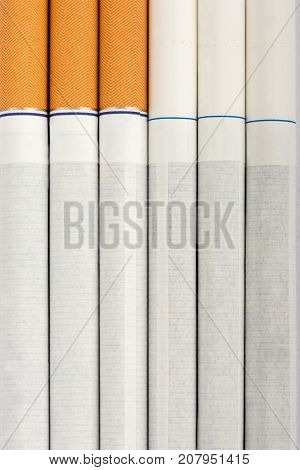 cigarette, texture, pack of cigarettes, close-up of a cigarette