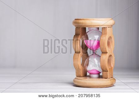 Close Up Of Hourglass