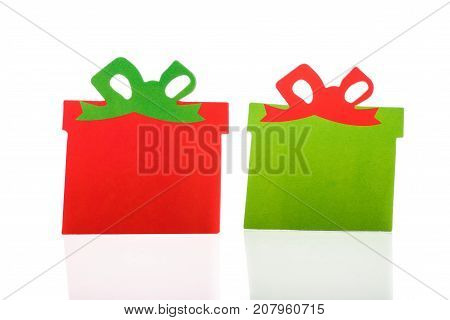 Christmas Gifts And Presents Isolated