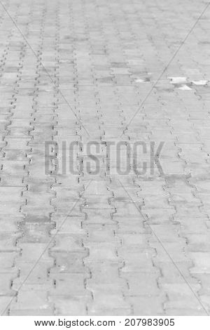 Background from street sett . Photo of abstract background