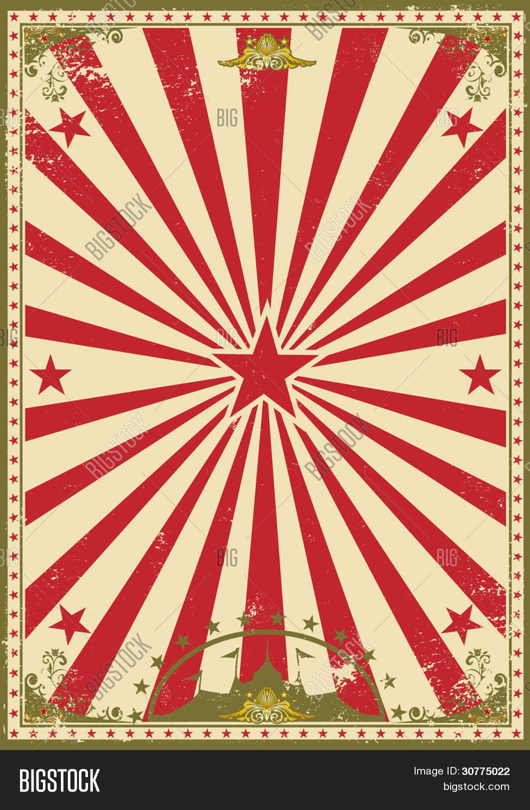 circus vintage. retro vector & photo (free trial)   bigstock